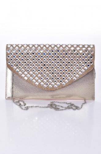 Goldfarbig Portfolio Handtasche 0499-04