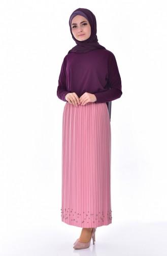 Pleated Skirt 5026-02 Powder 5026-02