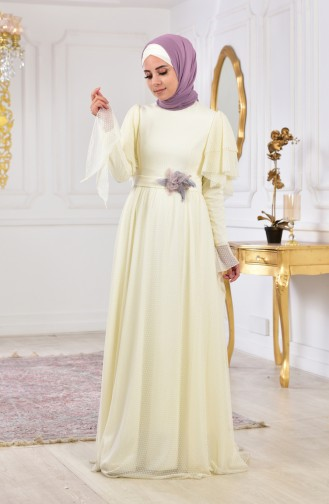 Habillé Hijab Ecru 11180A-01