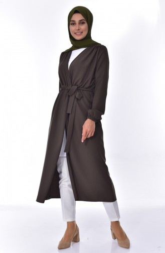 ريتا كارديجان بتصميم حزام للخصر 50346-02 لون أخضر كاكي 50346-02