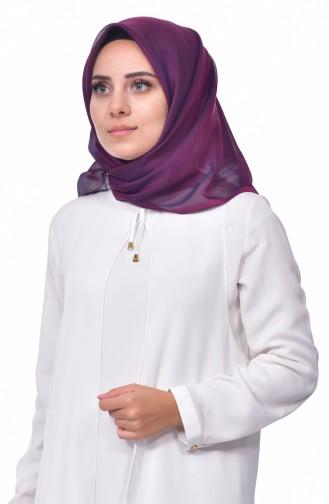 Plain Taffeta Shawl 901370-10 Violet 901370-10