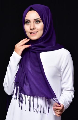 Sefamerv Pashmina Shawl 90508-07 Purple 07