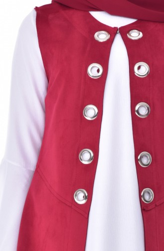 RITA Suede Vest 70125-01 Plumed 70125-01