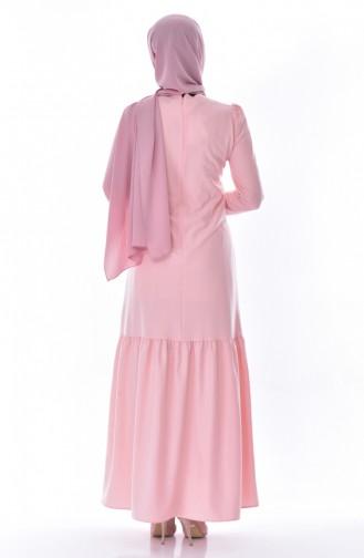skirt Pleated Dress 7202-03 Powder 7202-03