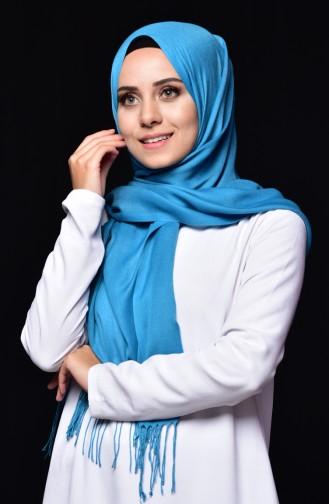 Sefamerve Pashmina Shawl 90508-83 Turquoise 83
