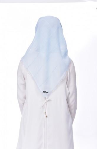 Babyblau Smart Kopftuch 14