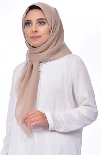 Cotton Akıllı Eşarp 901376-07 Bej