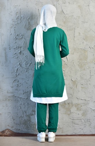 Tracksuit Suit 18045-05 Emerald Green 18045-05