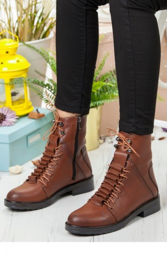 Tobacco Brown Bot-bootie 142121