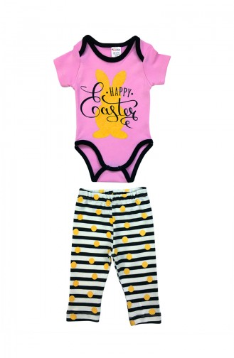 Baby Suit A4336-01 Pink 4336-01