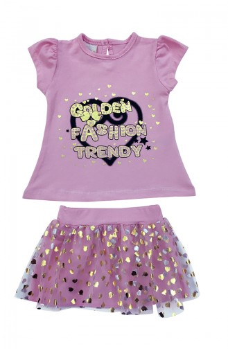 Baby Suit A4566-01Pink 4566-01
