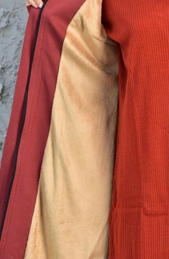 Furry Padded Coat 5091-03 Tile 5091-03