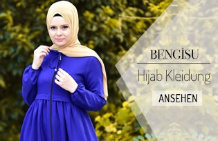 Bengisu Hijab Kleidung- Tunika Kampagnen