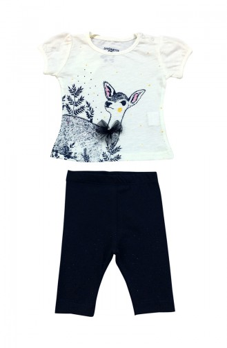 Baby Suit A4183-01 White 4183-01