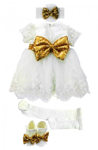 White Baby & Kid Suit 6767-01