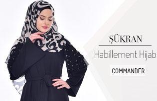Combinaison Şükran Hijab