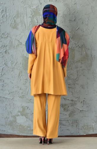 Tunic Pants Binary Suit 1021A-08 Mustard 1021A-08