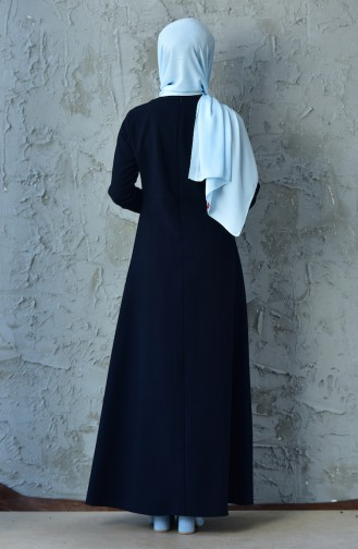 Laced Dress 4416-01 Dark Navy 4416-01
