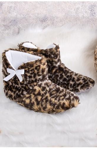 Leopard House Shoes 9901-01