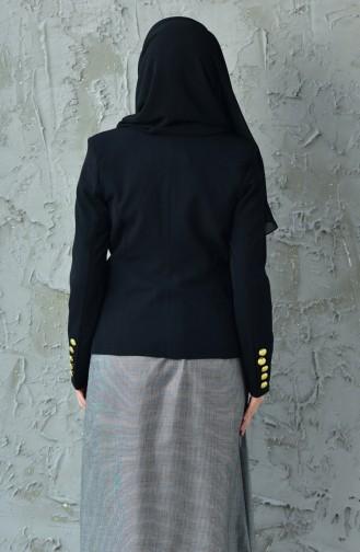 Schwarz Jacke 6450-01