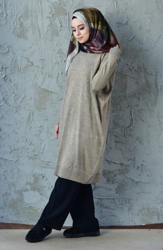Knitwear Tunic 0613-04 Mink 0613-04