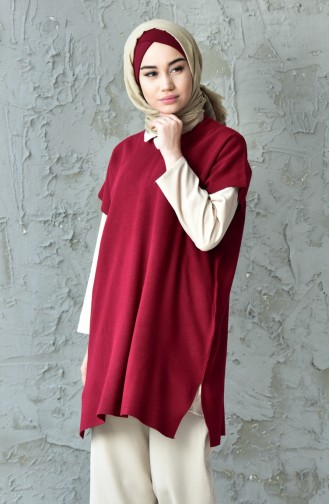 Pull-over Tricot Fin 3200-05 Bordeaux 3200-05