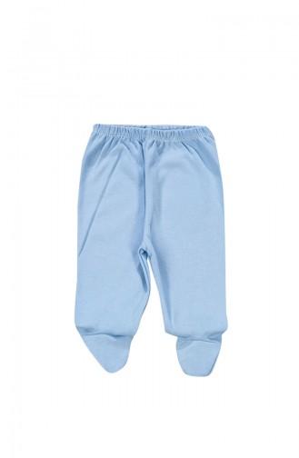 Baby Cotton Pants B-853-01 Blue 853-01