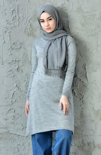 Basic Knitwear Sweater 128312-06 Gray 128312-06