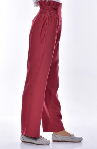 Elastic Wheeled Trousers 1706-02 Dried Rose 1706-02