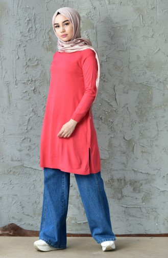 Basic Knitwear Sweater 128312-08 Coral 128312-08