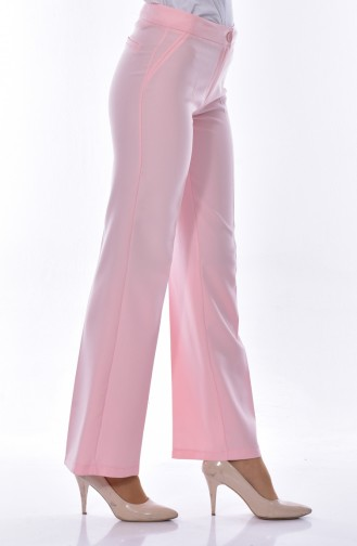Wide leg Trousers 1672-01 Candy Pink 1672-01