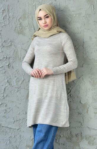 Basic Triko Kazak 128312-03 Taş