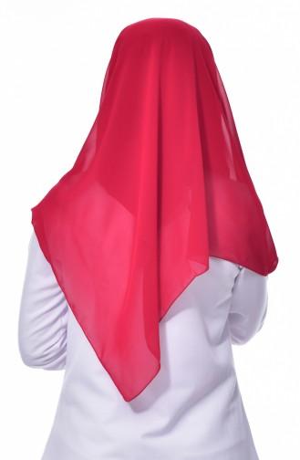 Claret red Hoofddoek 68