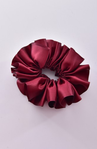 Claret red Hair Clip 0004-08
