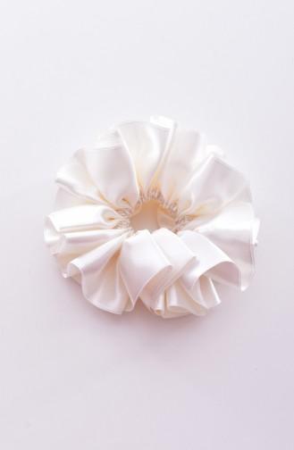 Cream Hair Clip 0004-07