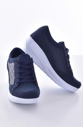 Navy Blue Sport Shoes 0107-04