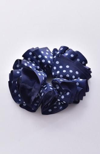 Navy Blue Hair Clip 0002-01