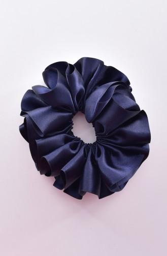 Navy Blue Hair Clip 0004-02