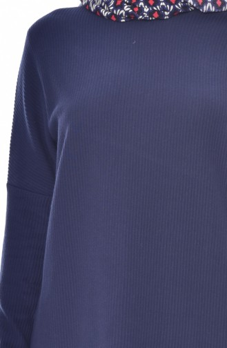 Navy Blue Tunics 7683-02