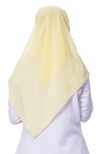 Zitronengelb Kopftuch 79