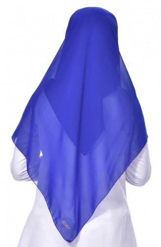 Saxon blue Hoofddoek 63