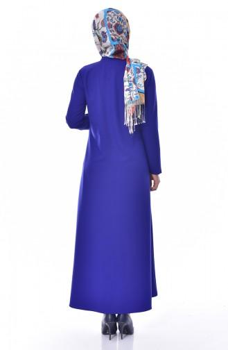 BENGISU Pocket Detailed Dress 2127-03 Saks 2127-03