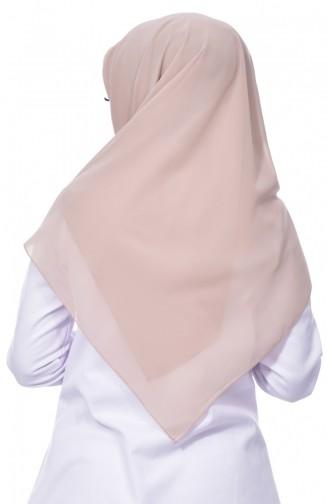 Übergröße Kopftuch aus Kreppstoff 50024-36 Grauweiß 36