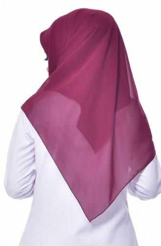 Übergröße Kopftuch aus Kreppstoff 50024-124 Kirsche 124