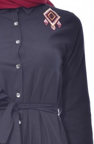 Tunique Noir 1256-04