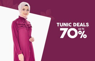 TUNIC DEALS UP TO 70%