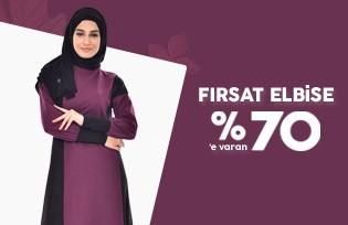 FIRSAT ELBİSE %70´E VARAN