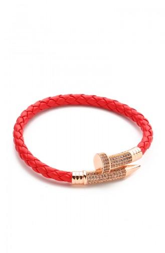 Rot Armband 9091
