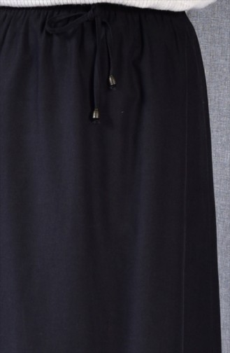 Plated Waist Skirt 1025-03 Black 1025-03