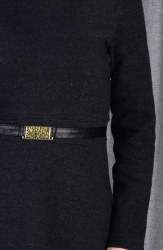 فستان أسود 7128-02